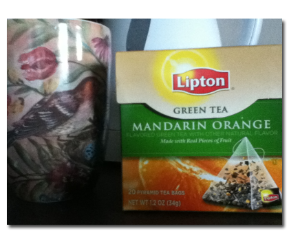 Lipton Green Tea Mandarin Orange