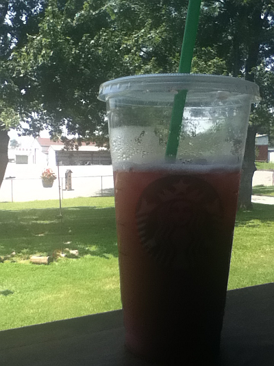 Starbucks Passion Tea with Strawberry