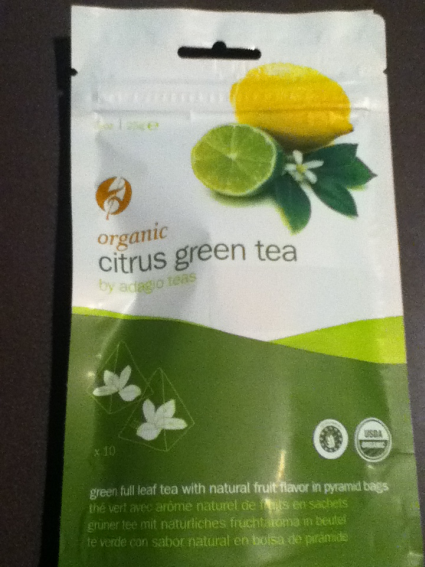 Adagio Teas Organic Citrus Green Tea