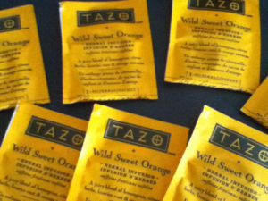 TAZO Wild Sweet Orange Tea