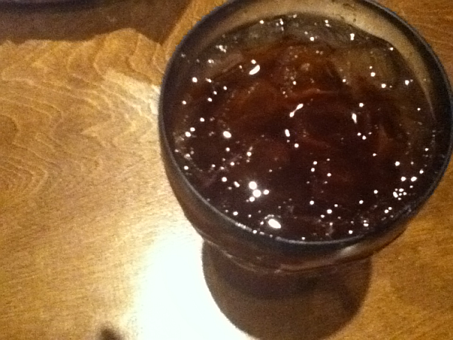 Logan's Roadhouse Raspberry Tea