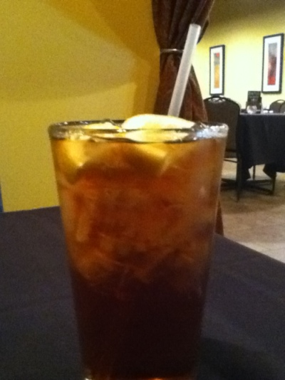 Iced Tea at Pangea Cafe in Owensboro Kentucky