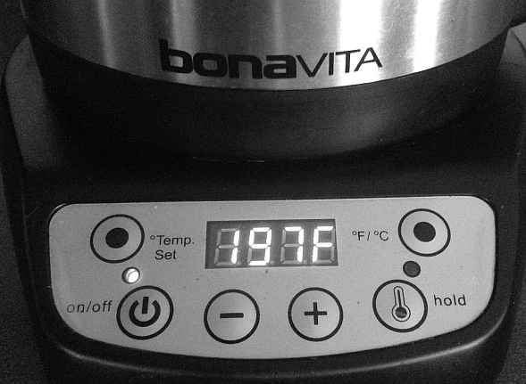 Bonavita Digital Electric Gooseneck Kettle