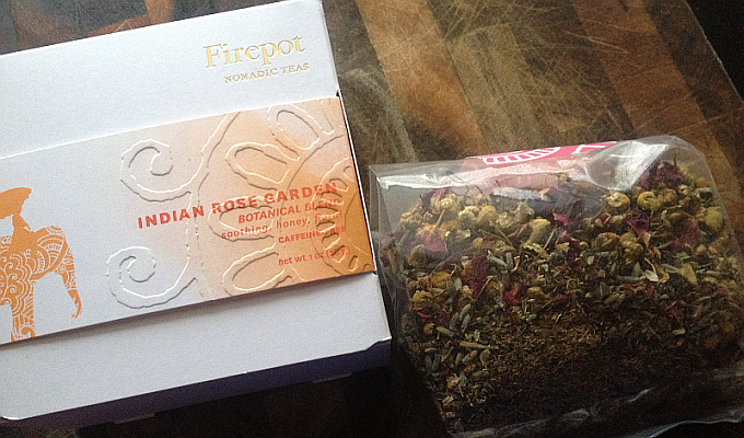 Firepot Indian Rose Garden Tea Review: Beautiful in Every Aspect