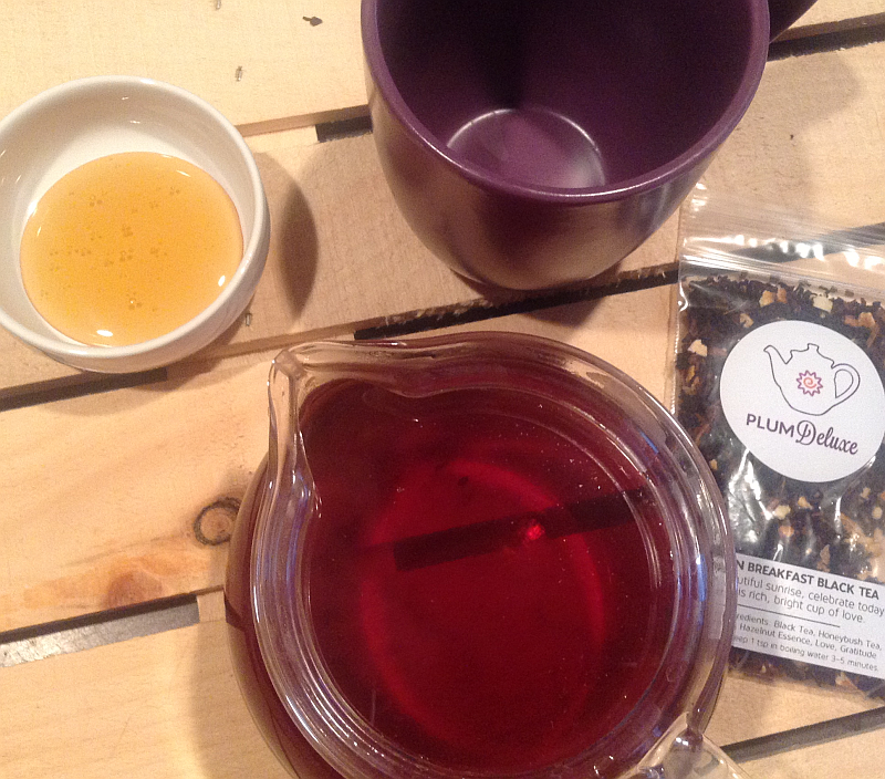 Plum Deluxe Oregon Breakfast Black Tea