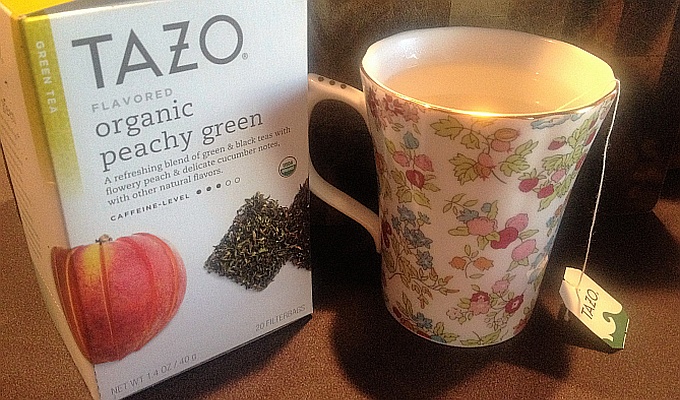 Review: TAZO Organic Peachy Green Tea