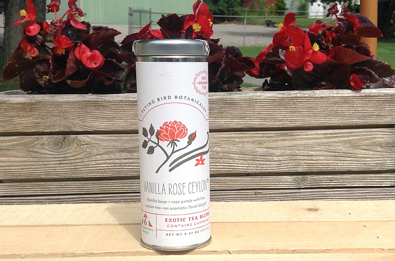 Vanilla Rose Ceylon Tea from Flying Bird Botanicals