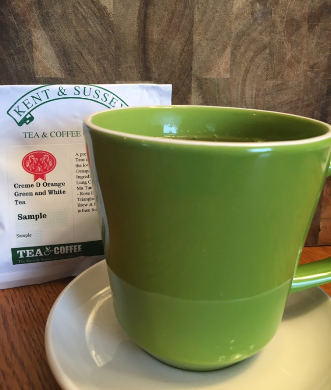 Creme D Orange Green and White Tea from Kent & Sussex