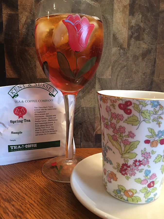 Spring Tea from Kent & Sussex - Iced and Hot