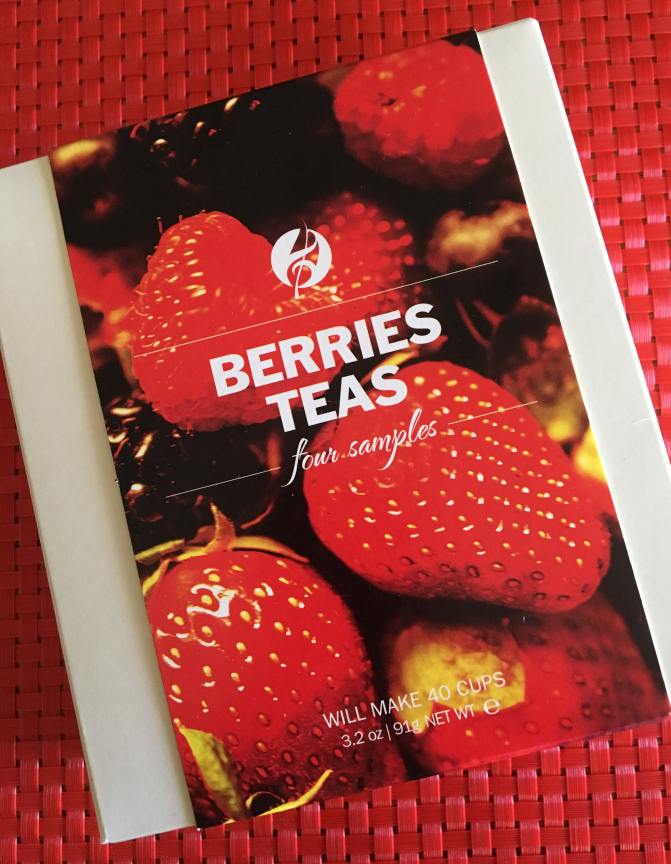 Berries Teas Gift Sampler from Adagio Teas