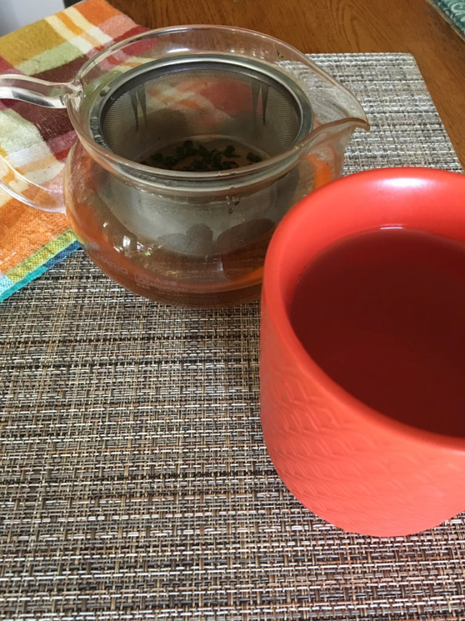 My Green Teapot Orange Green Oolong Tea