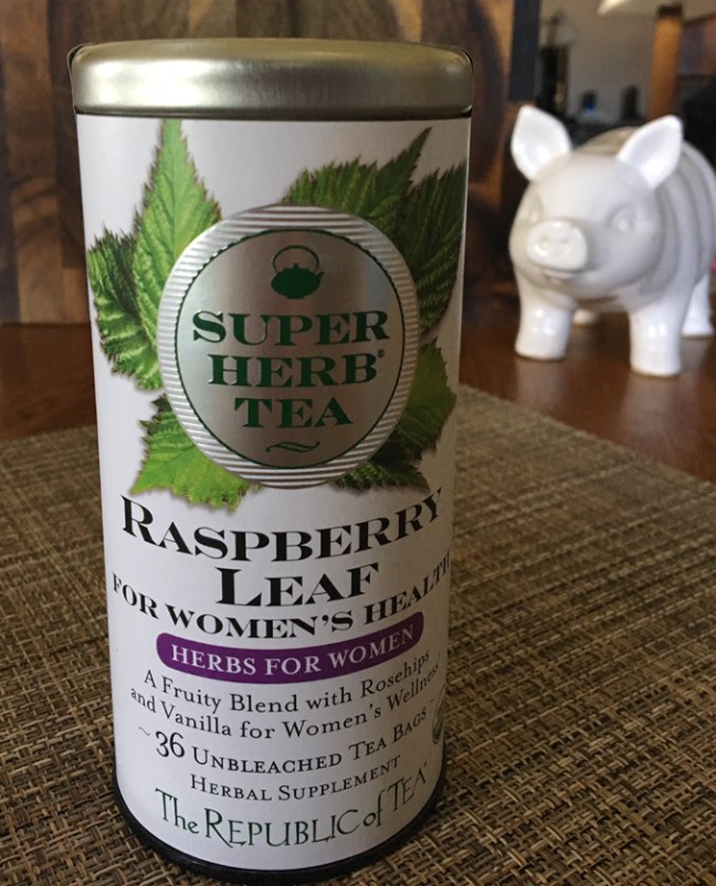 The Republic of Tea Organic Raspberry Leaf SuperHerb Tea For Women's Health